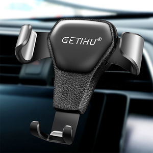 GETIHU Gravity Car Holder For Phone Air Vent Clip Mount Mobile Cell Stand Smartphone GPS Support For iPhone 12 11 XS X XR Xiaomi