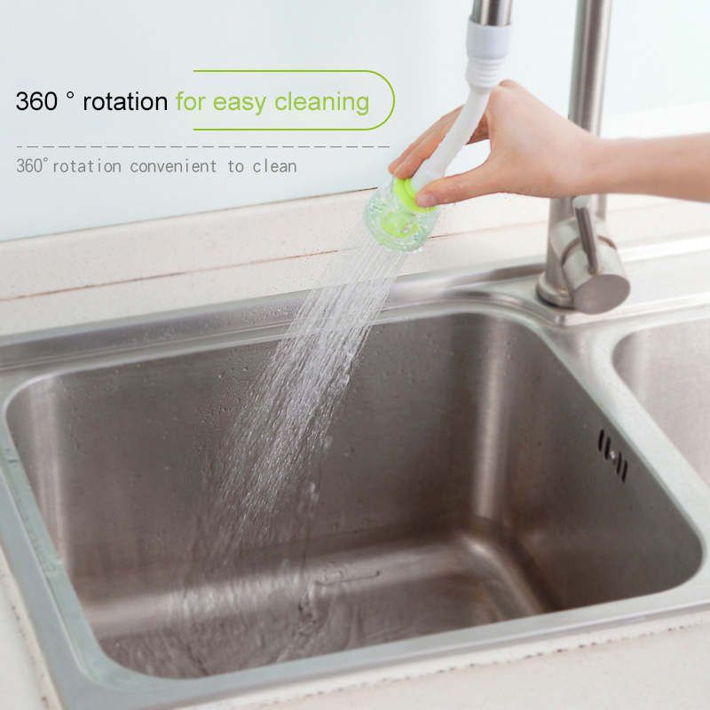 2 Modes 360 Rotatable Bubbler Water Saving High Pressure Nozzle Filter Tap Adapter Faucet Extender Bathroom Kitchen Accessories