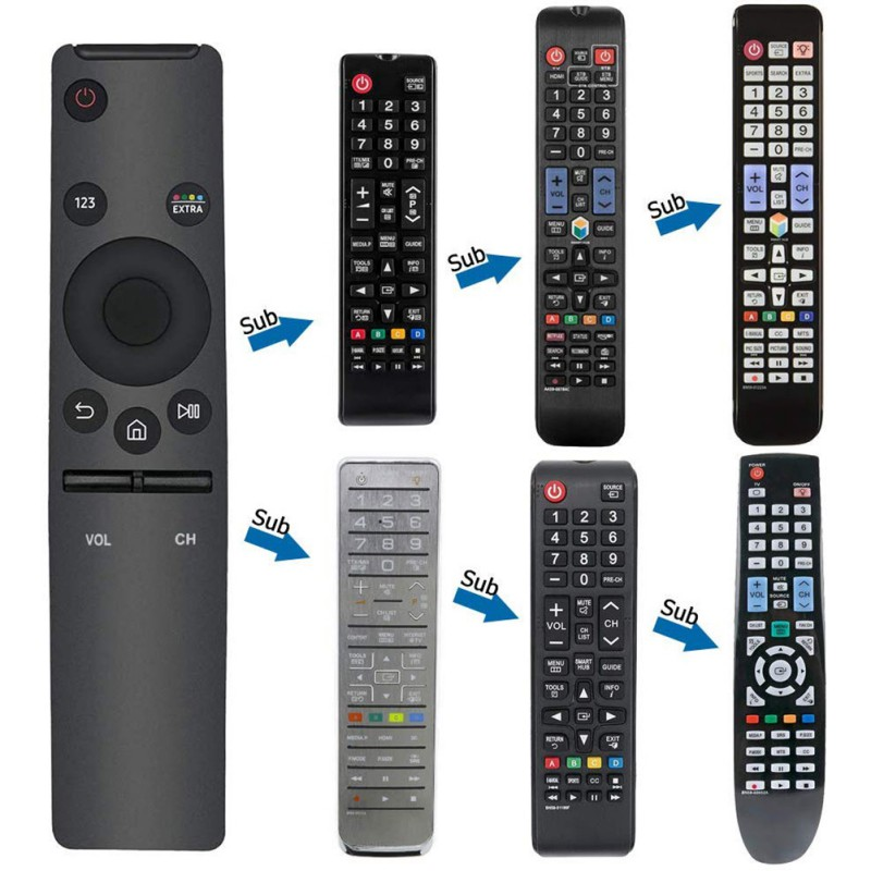 K Universal Remote Control 4K High Definition Television Replacement Controller For Samsung Smart Televisions Accessories Pakistan