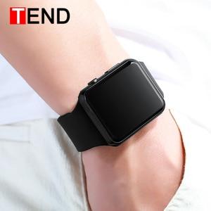 Men LED Digital Sports Watches Men's Rubber Strap Male Military Wristwatch Clock Saat relogio masculino Hodinky Ceasuri(China)