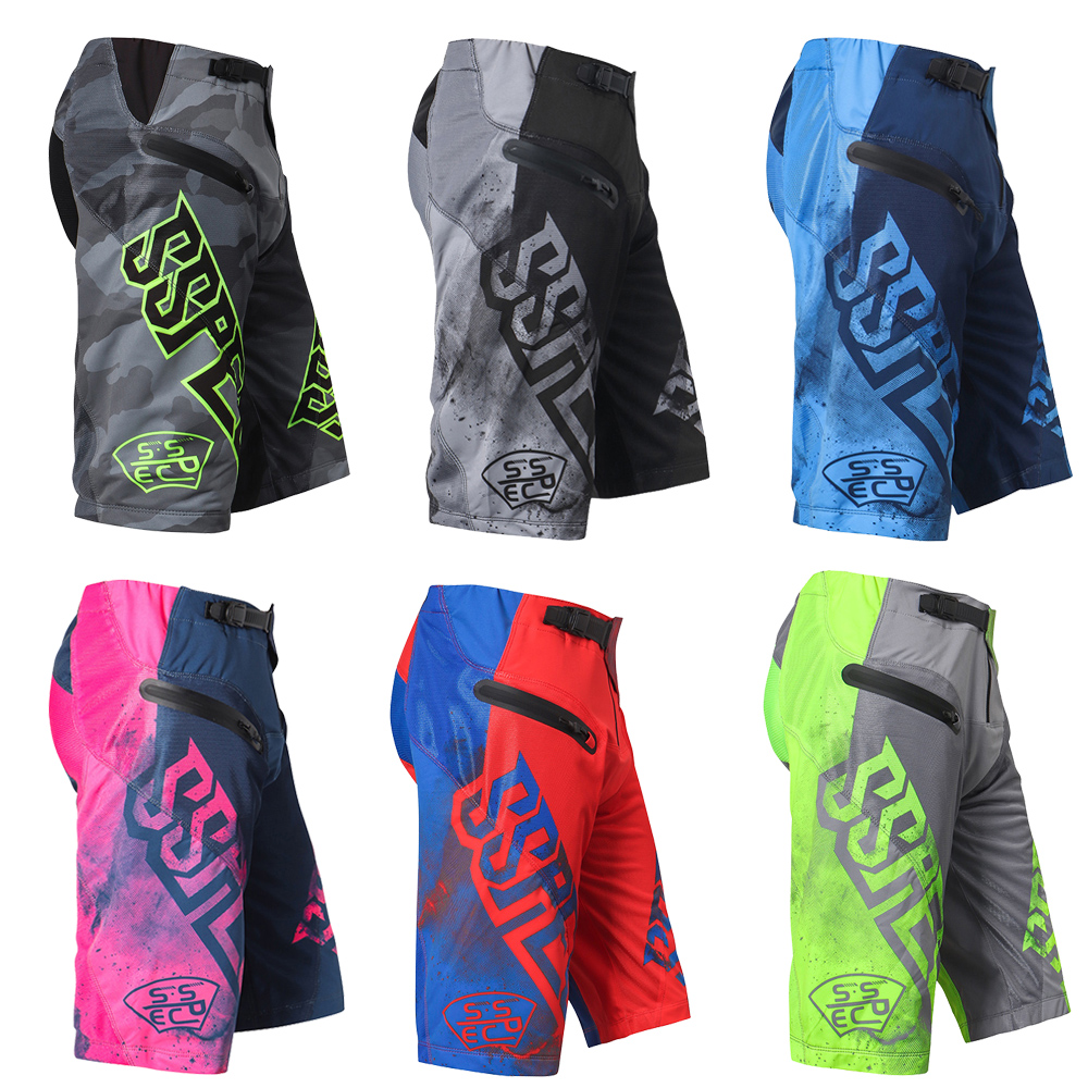 Brand SSPEC Summer Motorcycle Motorbike Shorts pantalon MTB Shorts Mountain Bike Shorts ATV Pants Men Downhill mtb Shorts Women