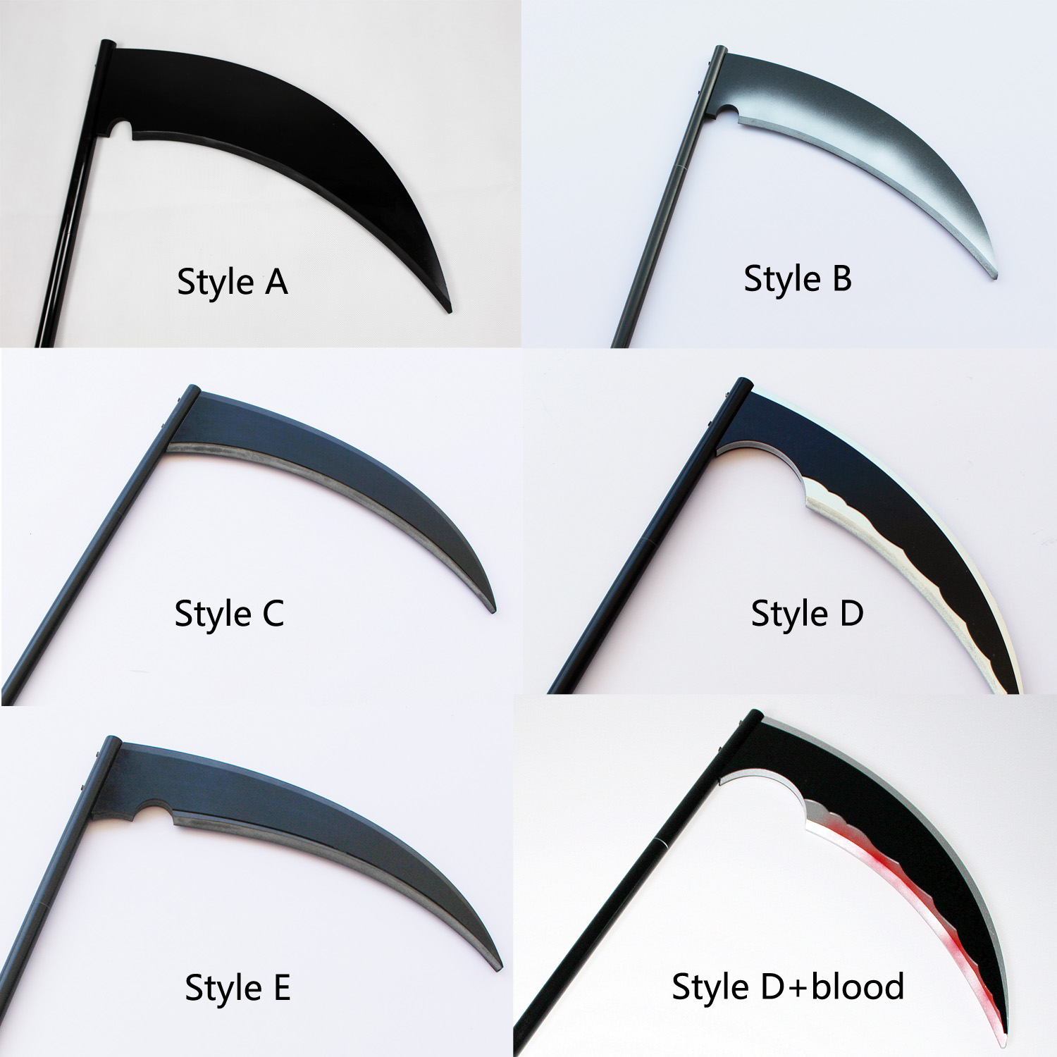 Angels Of Death Isaac Foster Zack Cosplay Death Scythe Halloween Costume Props