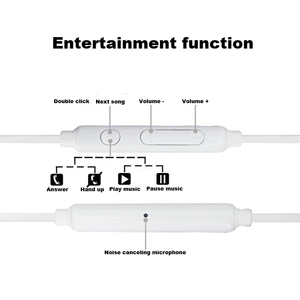Image 2 - Samsung EG920 Wired Earphone White Black with 3.5mm In Ear Plug Speaker Microphone Headset for Xiaomi Huawei