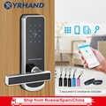 Elektrische Schloss für Tür WIFI APP Smart Touch Bildschirm Sperren, Digitale Code Tastatur Riegel Für Airbnb Hotel Wohnung