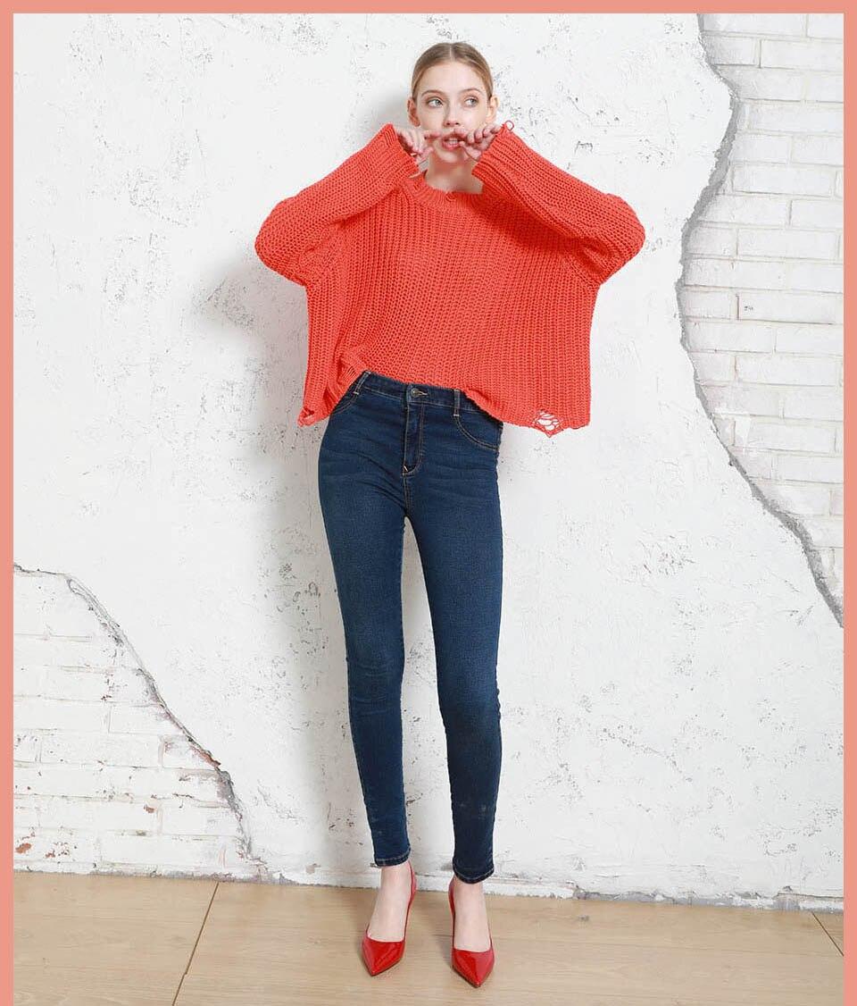 Autumn Winter Women Denim Skinny Pants Super Stretch Fake Front Pocket Waist Blue Grey Black White Slim Elastic Lady Jeans 13