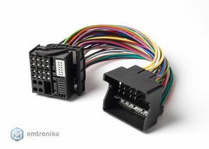 QUADLOCK B.M.W CIC NBT EVO retrofit Navi Radio Extension cable adapter Fakra 40 pin
