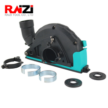 Raizi cubierta de polvo para amoladora angular, 125mm, disco de corte de hoja, accesorio para colector de polvo