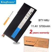 KingSener New BTY M6J Laptop Battery For MSI GS63VR GS73VR 6RF 001US BP 16K1 31 9N793J200 Tablet PC  MS 17B1 MS 16K2
