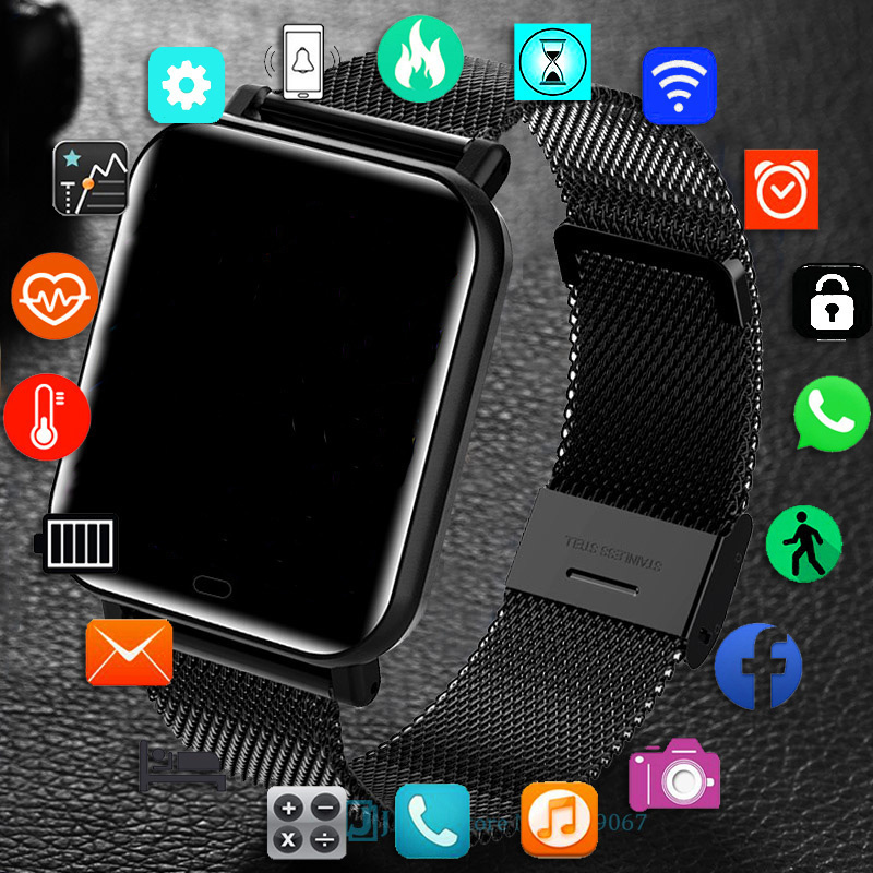 Permalink to Smartwatch sports fitness male and female for android and ios waterproof 2021