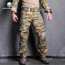 Emersongear bleu étiquette tactique Combat assaut pantalon BDU chasse en plein air armée militaire chasse formation Multicam camouflage pantalon
