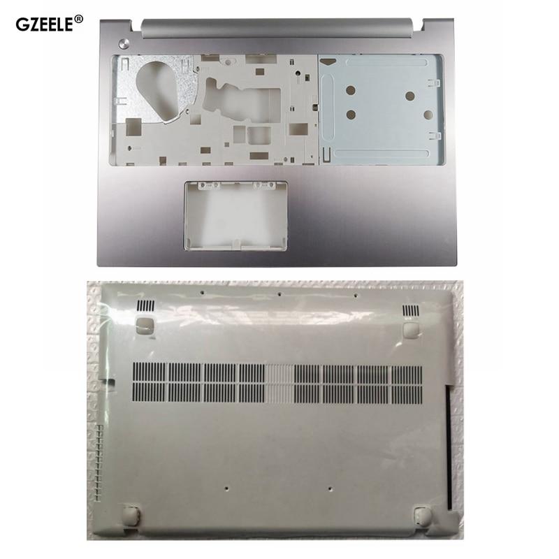 GZEELE New For Lenovo Z500 P500 TOP COVER Palmrest Upper Case Keyboard Bezel Upper Case Cover Top /Bottom Base Cover Case 5.0
