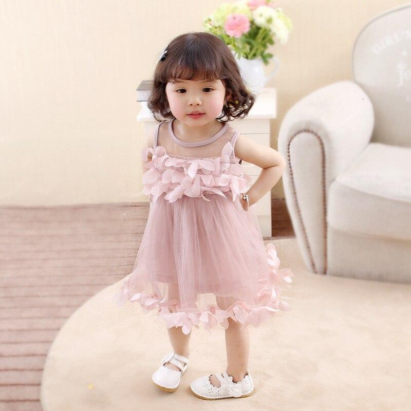 H9f9a38890e3643f5b4b3095f2256d312I Girls Dress 2018 Summer Explosion Solid Color Denim Dress Cartoon Polka Dot Bow Cartoon Bunny Satchel Korean Baby Cute Dress