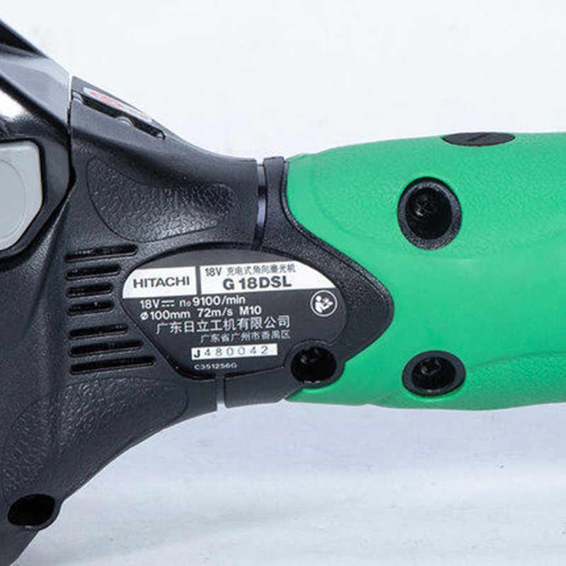 HiKOKI G18DSL//W4Z 18V 115mm Meuleuse Angle Unité Nue Haute Couple Bas Gear Long