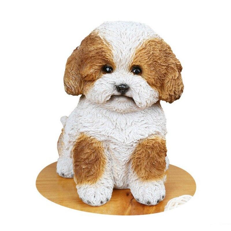 6 Mini Katze Hund Modell Tiere Miniatur Haustier Puppe Spielzeug Nette Ornamente