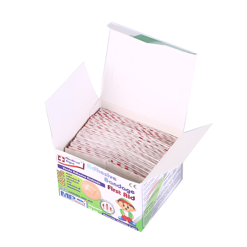 100PCS Breathable Band-Aids Waterproof Bandage Band-Aid Adhesive Wound Medical Ultra-Thin Emergency First Aid Bandage