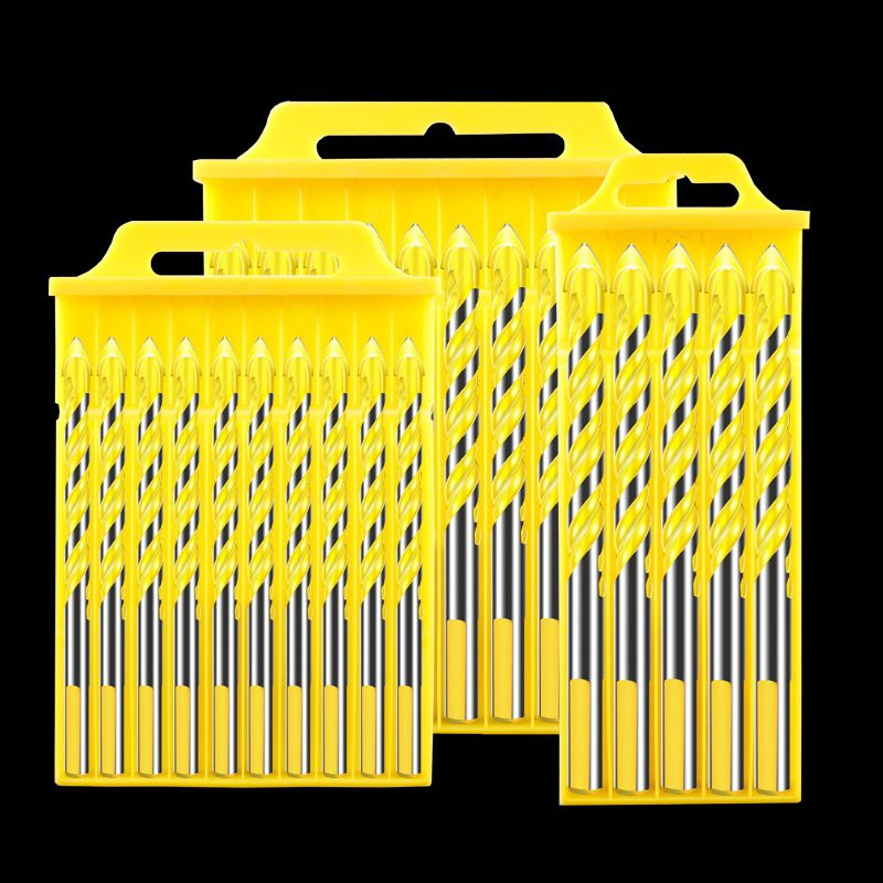 High Quality Tungsten Steel Alloy Drill Bit For Wood Drilling Multifunctional Twist Triangular Drill Bit Power Tools Accessories in Drill Bits from Tools