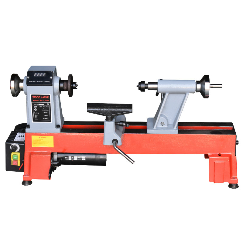Woodworking Lathe Small Lathe Speed Regulating Micro Machine Tool Woodworking Machinery Lathe Wood Spinning Bead Machine