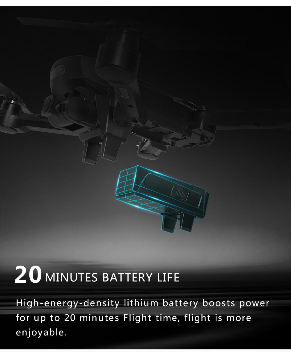 Drone GPS 4K 1080P Cámara Me sigue Quadcopter 9