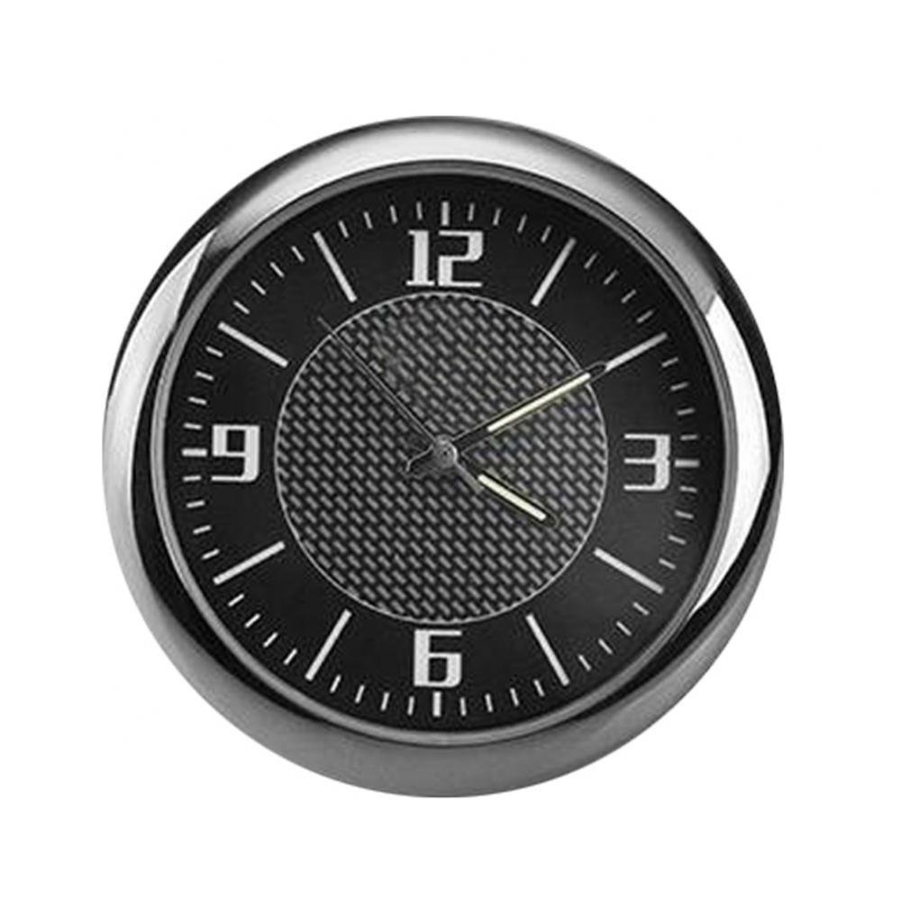 Hot Sale 80% Auto Car Vehicle Luminous Round Quartz Clock Watch Dashboard Auto Interior Watch Digital Pointer Air Outlet Decor