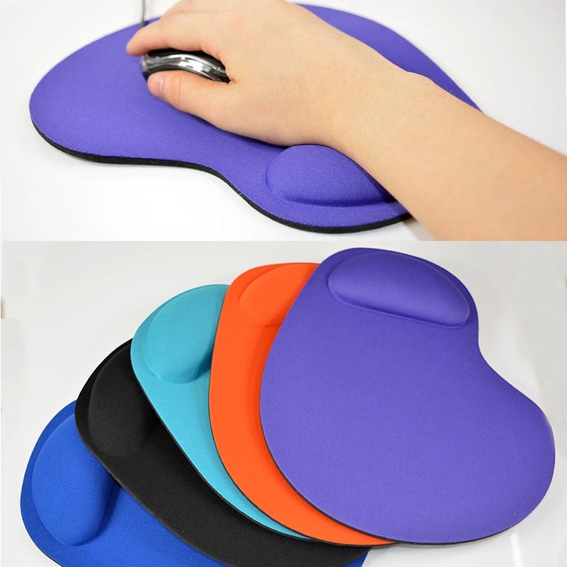 New Silicone Soft Wrist Rest Support Mouse Mat Gaming Mice Pad For PC Laptop Computer