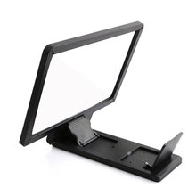 Desk Holder Tablet Mobile Phone Holder With Shock-proof Silicone Pad Plastic Cell Phone Holder Stand Mount Random Color