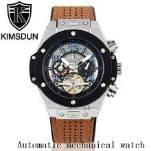 Роскошные автоматические механические мужские часы kimsdun в