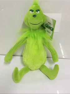 Dolls Plush-Toys Grinch Christmas-Gifts Kids Original How The Stole Stuffed