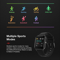 Men's Colorful Fitness Smart Watch with Weather Display