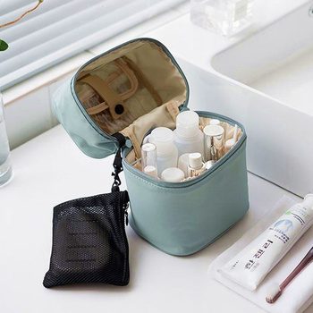 UOSC Makeup Bag Women Bags Men Large Waterproof Nylon Travel Cosmetic Bag Organizer Case Necessaries Make Up Wash Toiletry Bag 2