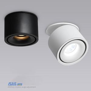 Image 2 - Luces empotrables de techo regulables, lámpara nórdica regulable de 10W, 12W, 15W, foco para punto de luz interior
