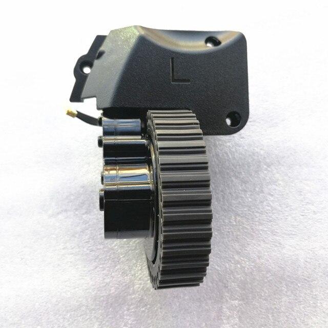 اليسار عجلة المحرك ل جهاز آلي لتنظيف الأتربة أجزاء آي لايف a4s a4 A40 جهاز آلي لتنظيف الأتربة آي لايف a4 بما في ذلك عجلة المحركات