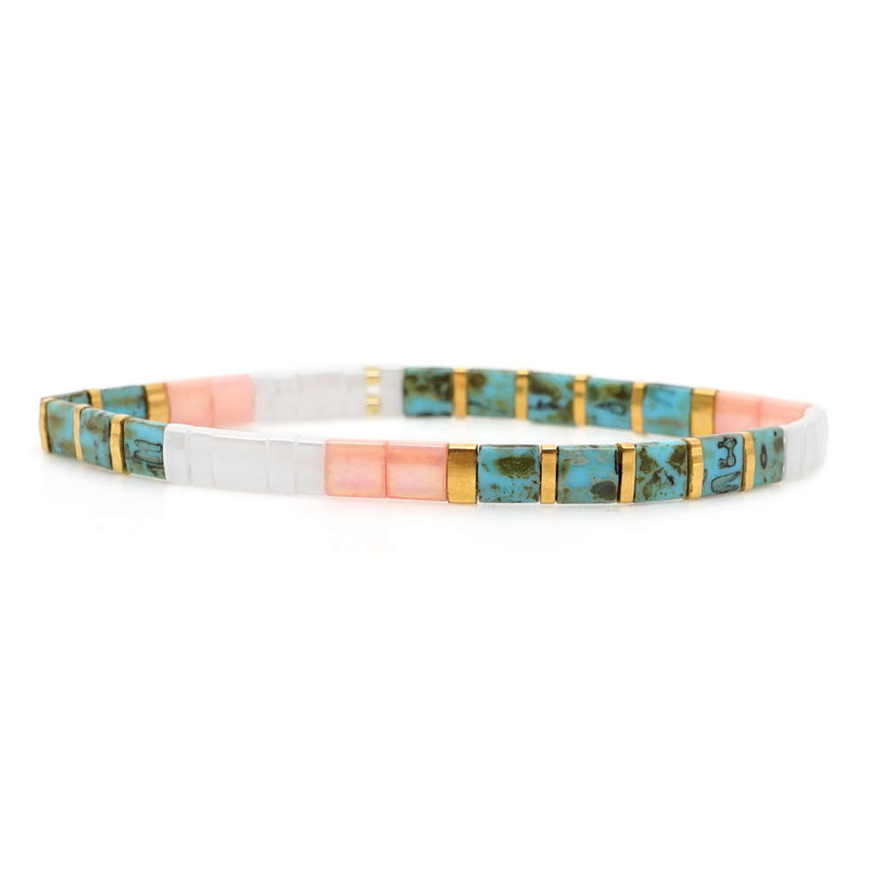 Go2boho Rainbow Bracelet For Women MIYUKI Tila Beads Bracelets Pulseras Mujer Moda 2020 New Femme Boho Summer Jewelry Wholesale