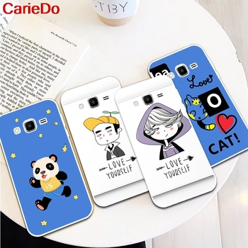 Carie Girl Man 1 Silicon Soft TPU Case Cover For Samsung Galaxy Core Grand Prime Neo Plus 2 G360 G530 I9060 G7106 Note 3 4 5 8 9 image