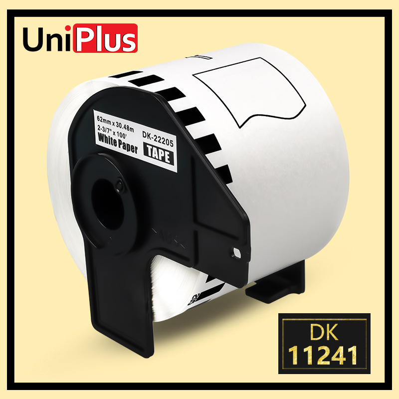 5x Brother Replacement DK-22205 Printer Label Tape 62mm Roll Spool for QL-560