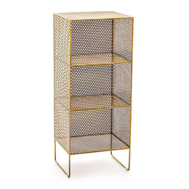 Nordic Simple Bedside Storage Rack    Small Cabinet Iron Art   Mini