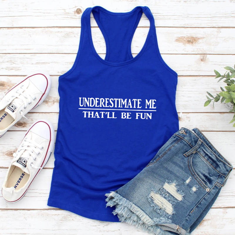 Thou Shall Not Try Me  funny womens tank top  quote tank fun summer tank top Free Shipping