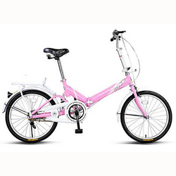 Składany rower 16 Cal dorosły mężczyzna studentki dzieci 4-8 lat rower Super lekki
