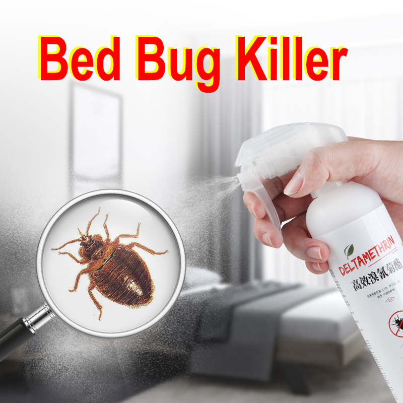 Super Effective Odorless Kill Bed Bug Drug Spray Exterminators Insecticide Poison Medicine Measles Bedbug Killer Trap