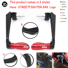 цена на Motocycle Handlebar Handle grips Bar Ends Brake Clutch Levers Guard Protector For Ducati STREETFIGHTER 848 2012 2013 2014 2015