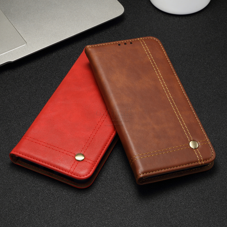 H9f9fa3e473cf4e32885f610f13a81e72s Luxury Retro Slim Leather Flip Cover For Xiaomi Redmi Note 8 / 8T / 8 Pro Case Wallet Card Stand Magnetic Book Cover Phone Case