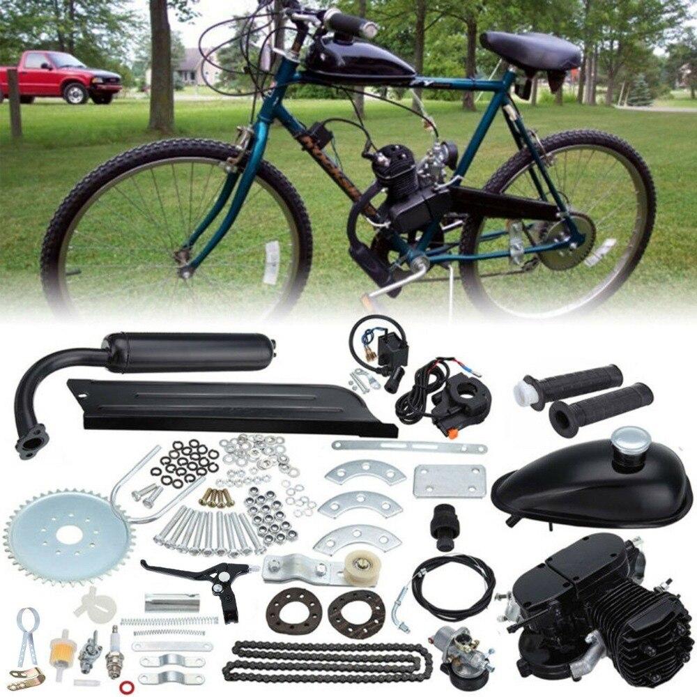 Samger 80cc 2 Stroke Bicycle Motor Gas Engine Kit For DIY Electric Bicycle Mountain Bike Complete Engine Set Bike Gas Motor Kit