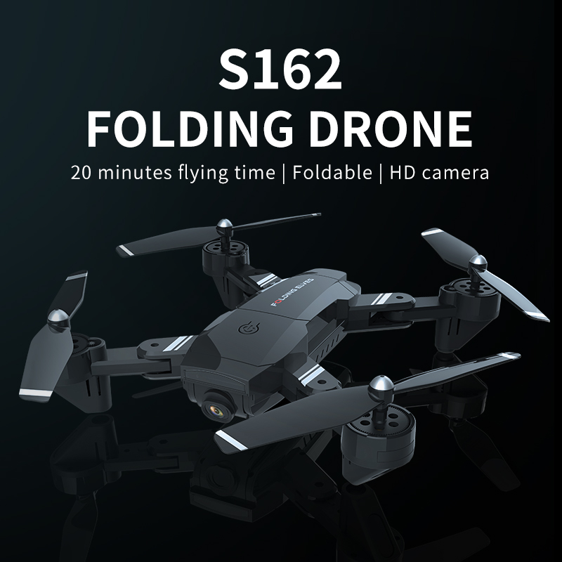 2.4Ghz 4CH Attitude Hold 1080P WIFI Optical Flow Dual Camera RC Quadcopter <font><b>Drones</b></font> With Camera HD Flying <font><b>Minion</b></font> RC Quadcopter Toy image