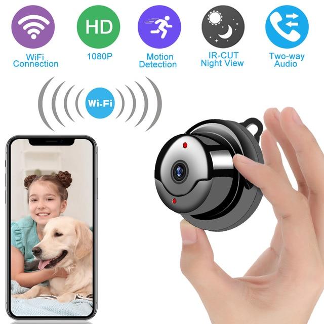 Wireless Mini WiFi Kamera 1080P HD IR Nacht Vision Micro Kamera Home Security Ip kamera CCTV Motion Erkennung Baby monitor