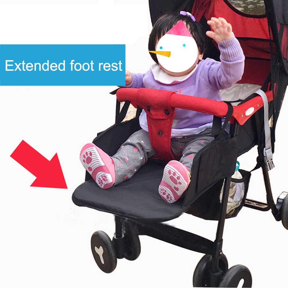 35CM podnóżek dla dziecka podnóżek podnóżek stóp rozszerzenie akcesoria dla Babyzen Yoyo Yoya YuYu uchwyt na nogi