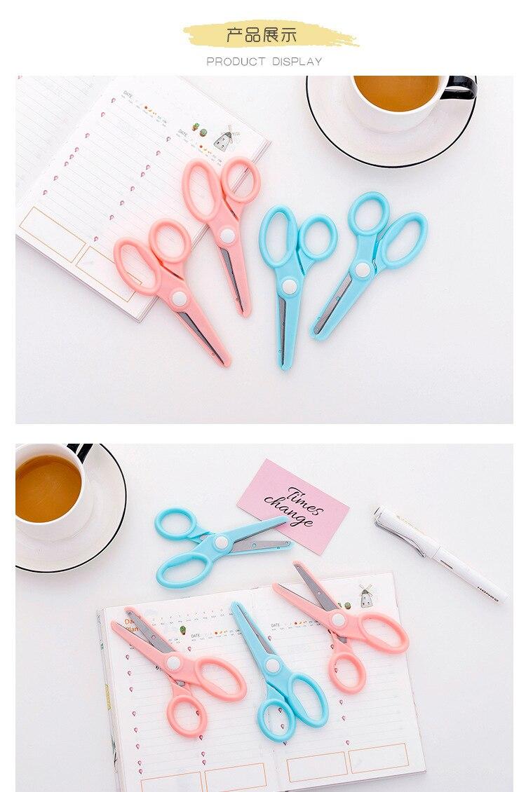 Детская ручной работы урок acic цюань Цзянь конфеты-Цветной милые маленькие ножницы студентов искусство бумажная резьба ручка ножницы Соединённые