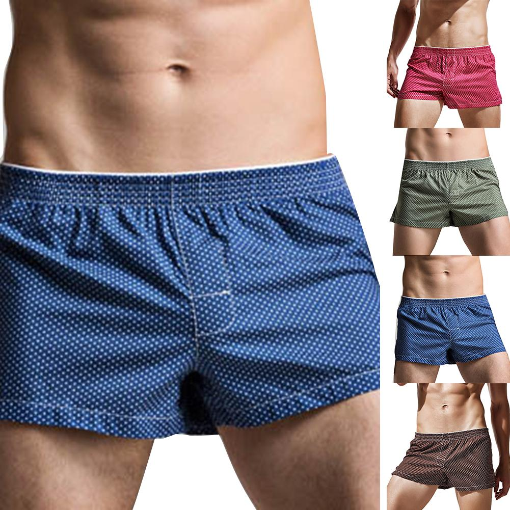 Mens Sexy Boxers Plus Size Boxershorts Men Underwear Boxers Short Men Boxers Cotton Mid Rise Boxers Mens Underwear Underpants