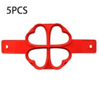 4 Hole Hearts-5PCS