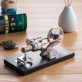 Hot Air Stirling Engine Generator Model Science Experiment Education Physics Toy model Gifts For Children