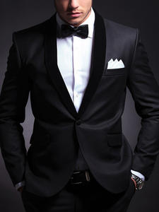 Wedding-Tuxedos Suits-Set Groom Business-Boyfriend-Jacket Slim-Fit Custom Black Pants