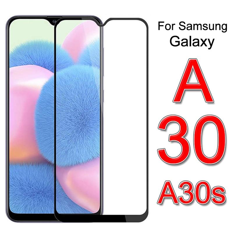 2 шт. защитное закаленное стекло на экран для Samsung A30s 2019 30s A307F A307 SM-A307F безопасности не оставляющее отпечатков пальцев на Galaxy A30 защитная пленк...